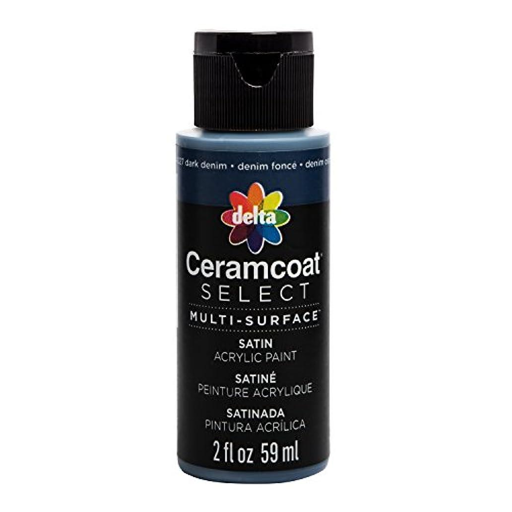 Delta Creative 04027 Ceramcoat Select Multi-Surface Paint 2oz, Dark Denim xxw6633950