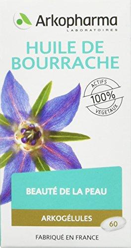 Arkopharma - Phytothérapie - Huile de Bourrache - Arkogélules - 60 Capsules