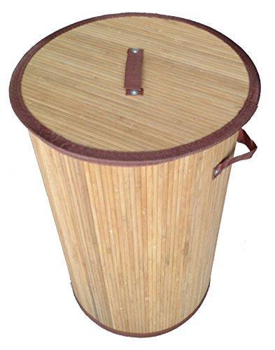 GMMH LN 41 Wasmand New York bamboe opvouwbaar, 50 cm hoog