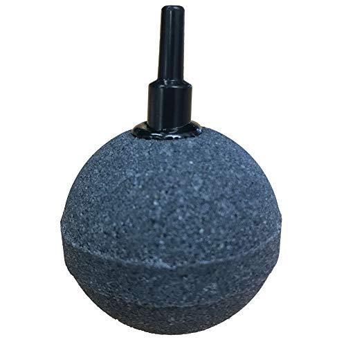 """ViaAqua 10X Ceramic HI OXY Pond OR Aquarium AIRSTONE AIR Stone Stones 50mm 2"""" Round Ball"""