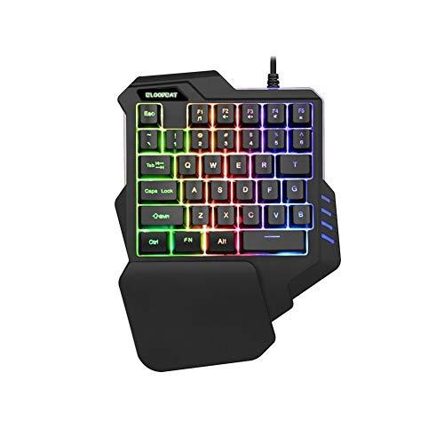 BINCIBH Gaming Tastatur,Mechanische...