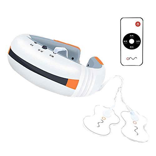 Duofenlh Nackenmassagegerät Heizung Zervixmassagegerät Zervix Spondylotherapie-Instrument Tragbares elektrisches Profi-Massagegerät