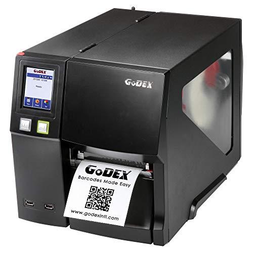 Godex ZX1300i-CUT Etikettendrucker mit Cutter - 300 dpi - Thermodirekt, Thermotransfer - 104 mm max. Druckbreite (ZX1300I-CUT)