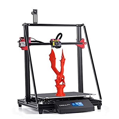 Tresbro Creality Ender 3 V2 3D Printer, FDM All Metal 3D Printers Kit with Upgraded Silent Motherboard, Carborundum Glass Bed, Mean Well Power Supply, Print Size 220x220x250mm