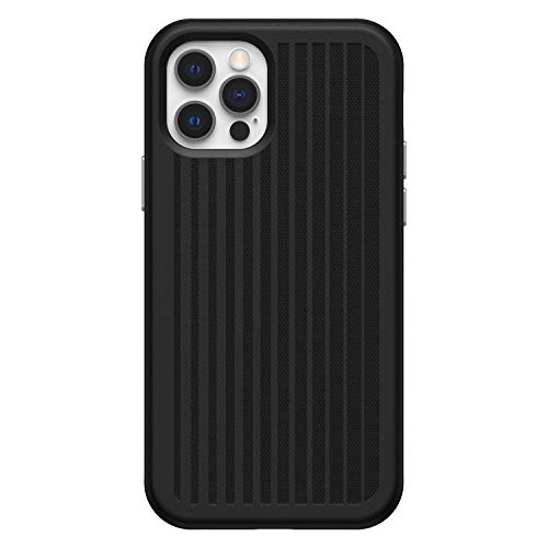 OtterBox Max Grip Cooling and Antimicrobial Gaming Case for iPhone 12 & iPhone 12 Pro - Squid Ink (Black)