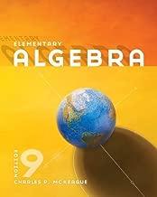 By Charles P. McKeague: Elementary Algebra Ninth (9th) Edition