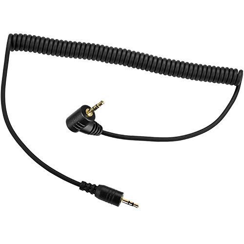 PHOLSY 2,5 mm C6/E3 Cable Disparador Remoto Cable de Conexión para Canon Fujifilm Pentax Samsung Contax Sigma