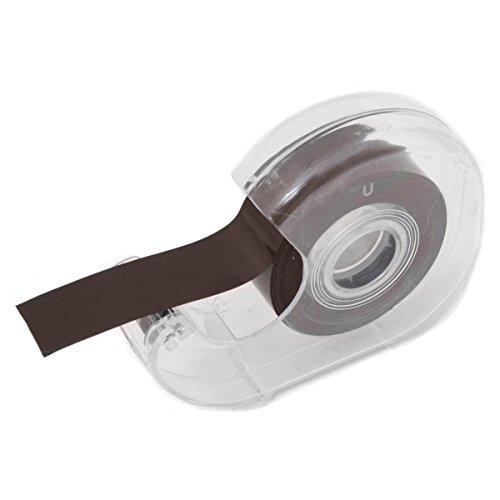 GOODS+GADGETS selbstklebendes magnetisches Klebeband Magnet-Tape mit Spender | 3 m Rolle 19 mm Breite