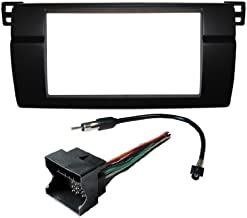 Aftermarket Radio Stereo Installation Complete Double Din Dash Kit Fitted For BMW 3 Series E46 Wiring Harness Antenna Adaptor