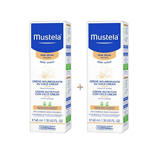 Mustela Nourishing Cream with Cold Cream - Crema facial para