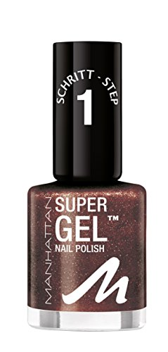 MANHATTAN Super Gel Nagellack, Farbe 745, 1er Pack (1 x 12 ml)