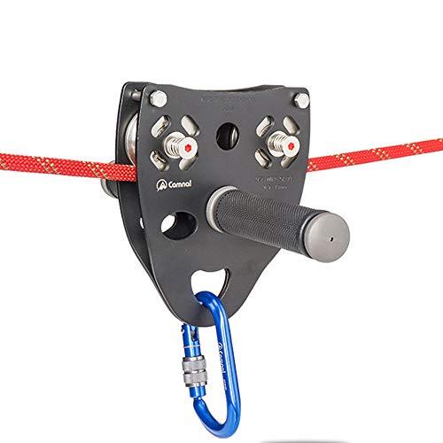 ZHLZH Kletterrollen/Außenkletter-Umlenkrolle Stahlseilrolle Seilrolle Doppelachsige Seilrolle