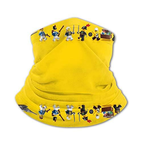 L-E-G-O He-Ro Festivo fa-ce Gesichtsschutzma-sken mit Filter Röhrenschal reutilizable lavable desechable Reino Unido sólo a prueba de polvo para niños, niñas bicicleta
