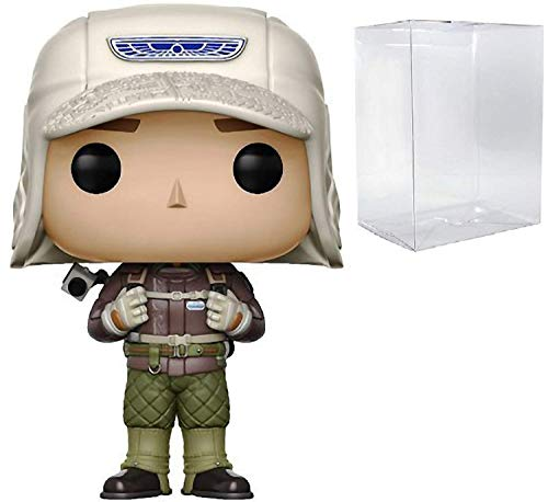 Funko Pop! Movies: Alien Covenant – David Rugged Gear (Walter) Figura de vinilo (encuadernada con funda protectora de caja de pop)