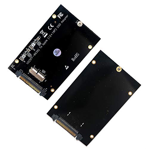 PCIe SSD to SFF-8639(U.2) Adapter Card for 2013 2014 2015 2016 2017 MacBook Air Pro Retina SSD (Not SATA Interface)