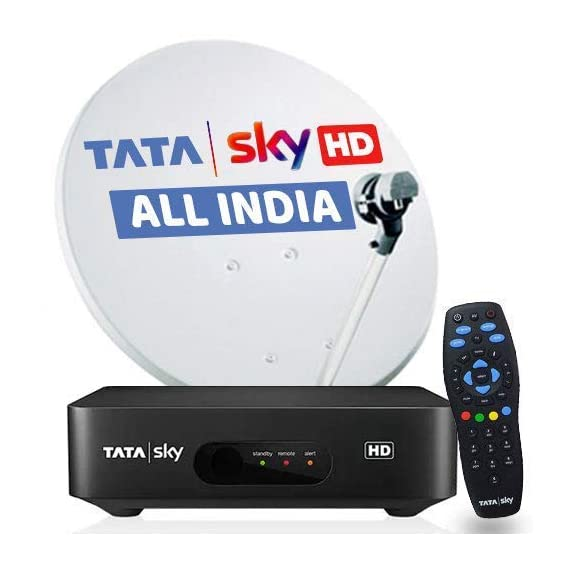 Airtel Digital TV- High Definition Box + 6 Months Dabang SD Pack_New