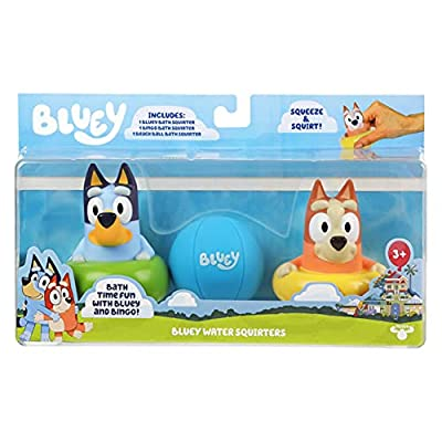Bluey Bath Squirters 3-Pack by Moose Toys