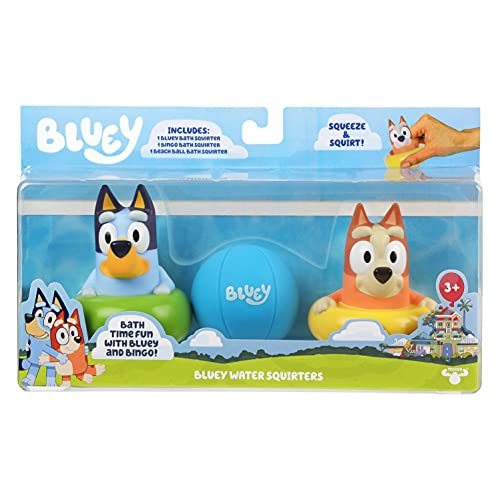 Bluey Bath Squirters 3-Pack
