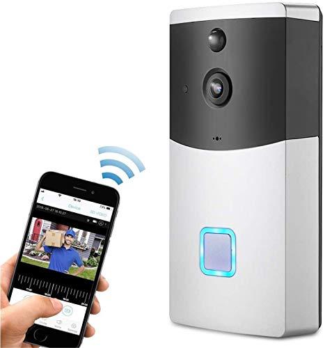 Video Türklingel Video-Türklingel, drahtlose Sicherheit IP-Kamerasystem 720P HD WiFi Smart Home-Überwachung-Video-Cam...