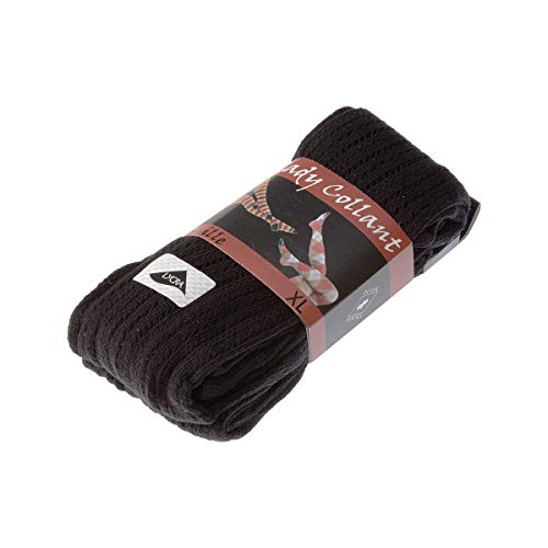 InterSocks Warme panty's, 1 paar, met gaten, zeer ondoorzichtig, mat, inzetstuk van polyamide, katoen