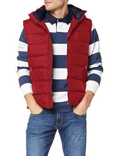 GANT Herren D1. The Active Cloud Vest Jacke, MAHOGNY RED, M