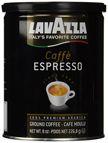 Lavazza Ground Coffee - Caffe Espresso - 8 oz - 2 pk