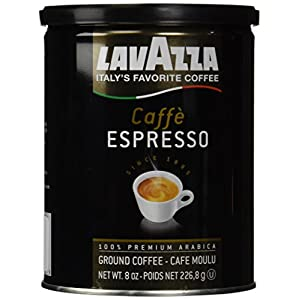 Lavazzo Ground Coffee Espresso 8oz
