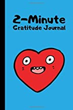 2-Minute Gratitude Journal: Kids Daily Journal to Promote Mindfulness and Gratitude in Children   Cute Heart Sky Blue