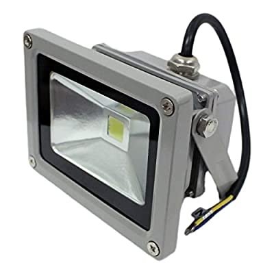 GLW 10w LED Flood Light Outdoor Lamp SMD 120 Degree Angle IP65 COOL WHITE