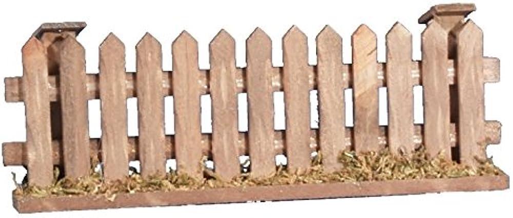 Ferrari & arrighetti big recinto, legno,accessorio per presepe Bertoni_580G