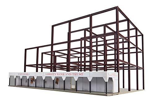Modellini di treno edifici industriali e commerciali