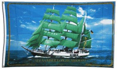 Flagge Alexander von Humboldt Schiff - 90 x 150 cm