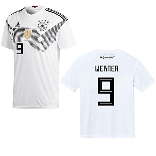 adidas DFB 2018/2019 Werner 9 - Camiseta para hombre, diseño de la selección alemana