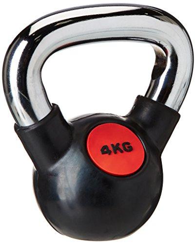 AFW 105135 105135-Kettlebells de Goma 20 kg, Color Negro, Talla M, Hombres, U