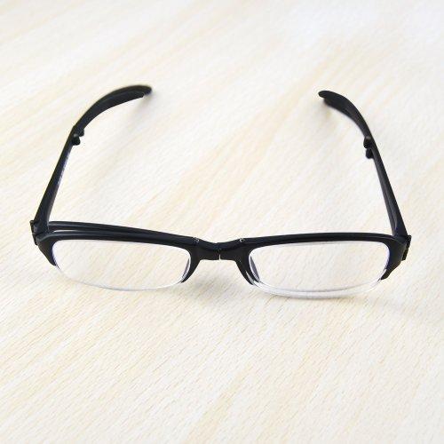 THG Gent plegable plegable antifatiga bolsillo gafas de lectura gafas de aumento...