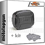 kappa maleta kvc35n k'vector 35 lt + portaequipaje aluminio monokey compatible con triumph tiger 800 xc/xr 2018 18