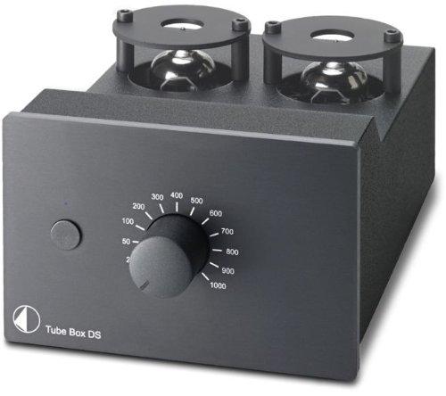 Pro-Ject Tube Box DS MM/MC Phono-Vorverstärker, Schwarz