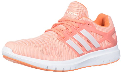 adidas Women's Energy Cloud V Running Shoe, Chalk Coral/Orchid Tint/Orchid Tint, 7.5 M US