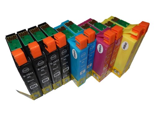 vhbw 10x Cartucce Stampante Set per Epson Workforce WF-2760DWF