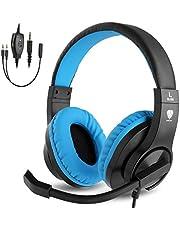 BlueFire PS4ゲーミング ヘッドセット 高音質 重低音ヘッドフォン 臨場感満ち 高集音性マイク付 SONY PS4/Nintendo Switch/Xbox One/タブレット/ノートパソコン/iPhoneスマートホン などに対応(ピンク)