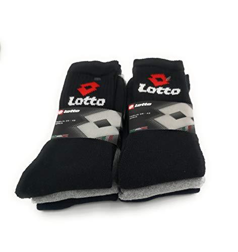 Lotto Socken, kurz, Frottee, 6 Paar, Mehrfarbig 43/46