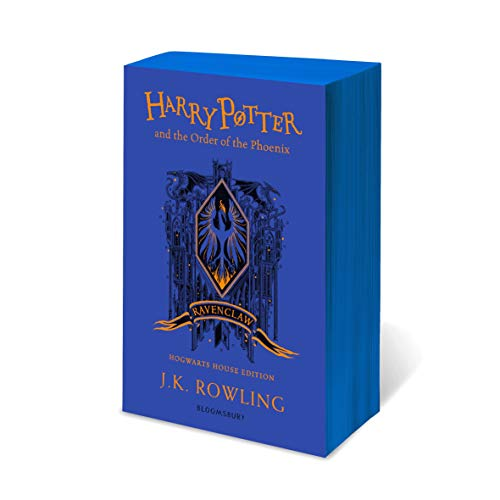 Harry Potter and the Order of the Phoenix – Ravenclaw Edition: J.K. Rowling (Ravenclaw Edition - Blue)