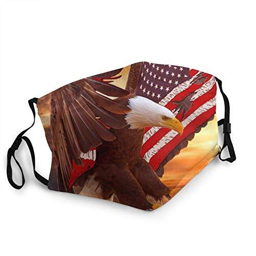 Prenda impermeable fresca de las bufandas de la manera del águila calva con 2 filtros para el