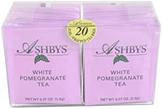 Ashbys White Pomegranate Tea Bags, 20 Count Box