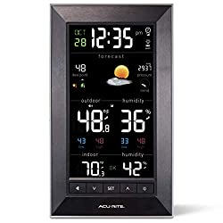AcuRite Vertical Color Weather Station with 24 Hour Future Forecast (01121M)