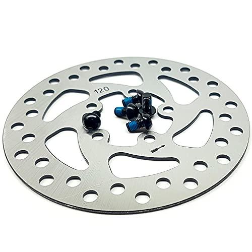 Vestigia® - Disco de Freno de 120 mm de Repuesto Para Scooter Eléctrico Xiaomi Pro Pro 2 – Freno de Rueda Trasera – Aleación de Aluminio – Piezas de Repuesto Para E-Scooter