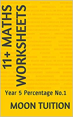 11+ Maths Worksheets: Year 5 Percentage No.1
