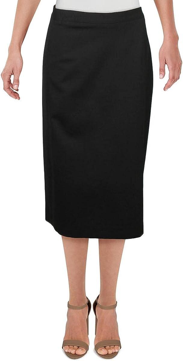 Kasper Women's Solid Compression Skirt