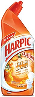 Harpic Fresh Peach and Jasmine Liquid Toilet Cleaner, 500ml