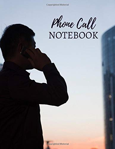 Phone Call Notebook: Follow Up Phonebook, Telephone Memo Recorder...
